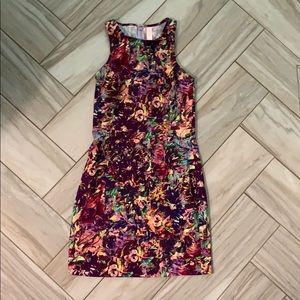 Isla & Lulu Stargazing Dress Purple Multi Small